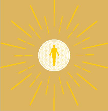 Energiearbeit im Energiekörper des Menschen